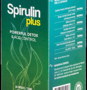 Spirulin Plus- Efektywny detoks bez męczących głodówek? Efektywne odkwaszanie organizmu bez katorżniczych poświęceń? Tak, to możliwe!