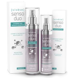 Vivese Senso Duo Oil 2 – Masz dosyć tego, iż każdego dnia Twoja fryzura jest coraz mniej atrakcyjna? Koniec z wypadaniem włosów!