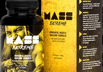 Mass Extreme – Lepsza rzeźba i napompowana sylwetka, to coś co otrzymasz bez kłopotu z Mass Extreme!