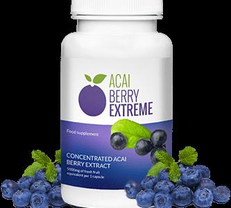 Acai Berry Extreme – silne oddziaływanie odchudzające w nadzwyczaj szybkim czasie