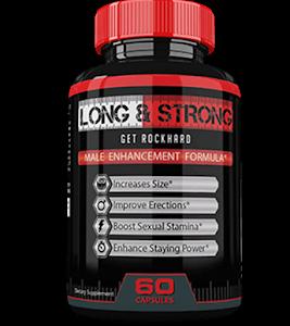 Long&Strong – Dłuższa, mocniejsza i twardsza erekcja? Spróbuj ów wspaniały suplement!