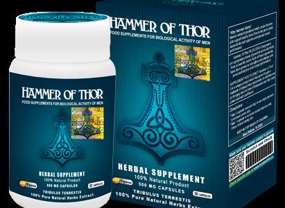 Hammer of Thor – świetny produkt, który poradzi sobie z wszelkim zaburzeniem wzwodu.